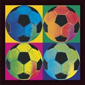 Barewalls Wall Decor, Ball Four-Soccer