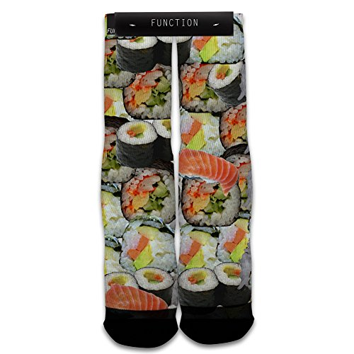 Function - Sushi Sublimated Crew Socks