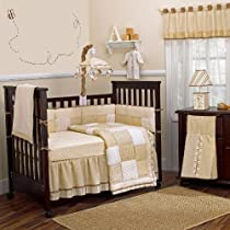 buy snickerdoodle 10 piece baby crib bedding set with bumper by crib bedding set sale