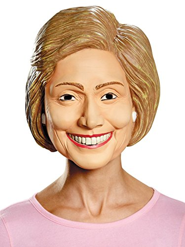Disguise Costumes Hillary Deluxe Mask, Adult