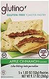 Glutino Gluten Free Toaster Pastry, Apple Cinnamon, 5 Count, Net Wt 9.17 Oz
