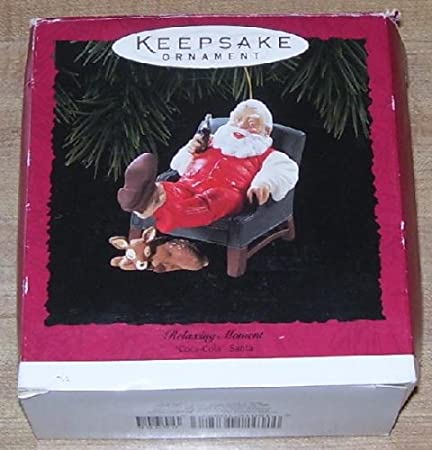 Santa Relaxing with Coke!