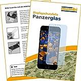 mumbi Panzerglasfolie iPhone 6 6s Glasfolie Hartglas 9H (bewusst kleiner als das Display, da dieses gewölbt ist)