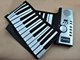 New Roll up soft portable electronic piano keyboard 61 keys promotional gift