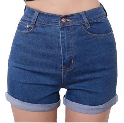AnVei-Nao-Womens-Girls-Fashion-High-Waist-Denim-Jean-Shorts-Summer-Hot-Pants-Blue-32