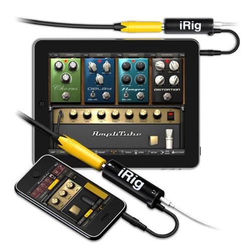 【日本正規代理店品】IK Multimedia iRig (iOSデバイス用ギター/ベース・インターフェイス) IKM-OT-000001