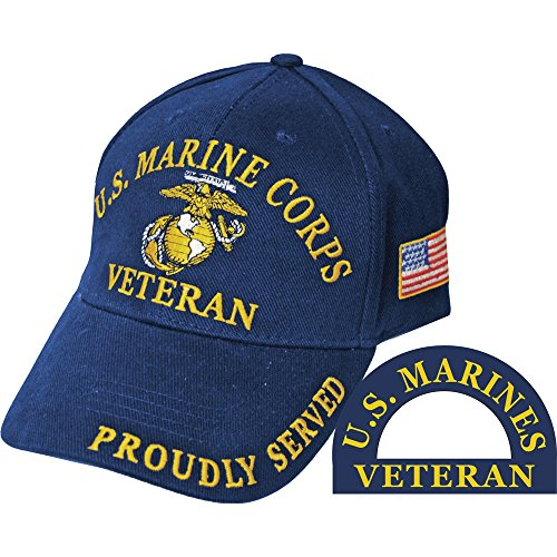 U.S. Marine Corps Veteran Proudly Served Hat
