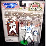 Johnny Unitas Action Figure - 1999 Starting Lineup Hall of Fame Legends NFL Football Sports Collectible