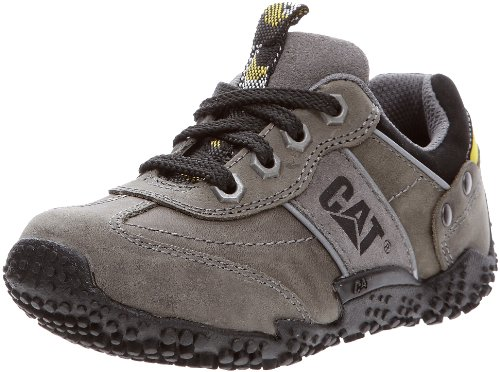 Cat Footwear ZAC Oxford P101483, Unisex - Kinder Sneaker, Grau (PEPPER OXFORD), EU 33