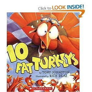 Thanksgiving 10 Fat Turkeys