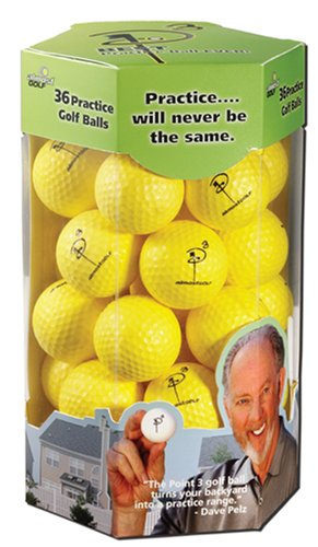 almost golf 36 practice ball refill pack,video review,yellow,(VIDEO Review) Almost Golf 36 Practice Ball Refill Pack - Yellow,