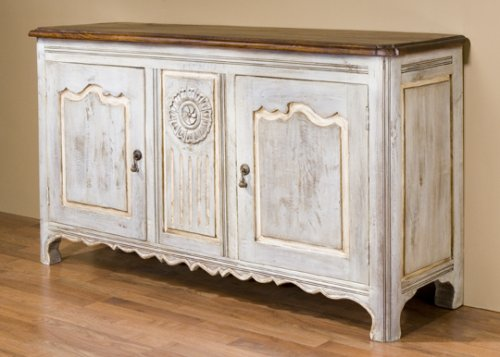 buy low price kathy kuo designs chaumont buffet sideboard french country shabby chic style. Black Bedroom Furniture Sets. Home Design Ideas