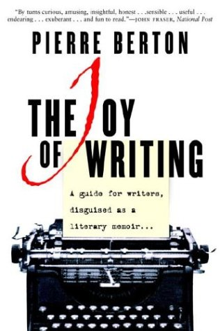"Cover of ""The Joy of Writing : A Guide fo..."