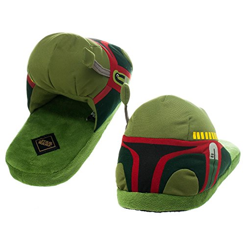 Star Wars Boba Fett Adult Slippers (X-Large)