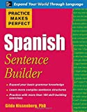 Practice Makes Perfect Spanish Sentence Builder (Practice Makes Perfect Series)