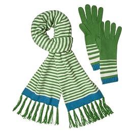 Product Image Merona® Scarf and Glove Set - Green