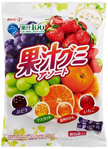 明治 果汁グミアソート個包装 90g×6袋
