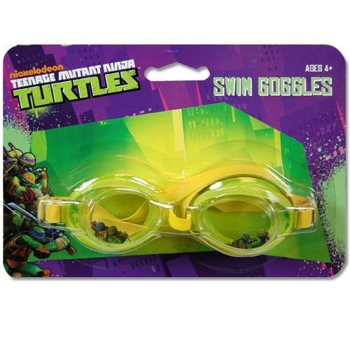 Teenage Mutant Ninja Turtles 1pk Splash Swimming Goggles