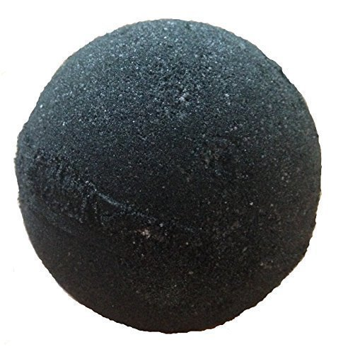 MIDNIGHT Jet Black Bath Bomb By Soapie Shoppe EXTRA LARGE Bath Bomb 7-8 oz. NOW BLACKER THAN EVER!