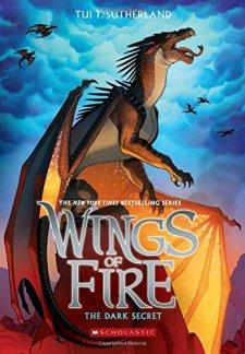 Wings of Fire Book Four: The Dark Secret by Tui T. Sutherland| wearewordnerds.com