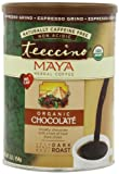 Teeccino Herbal Coffee, Maya Chocolate, Caffeine-Free, Espresso Grind, 16-Ounce