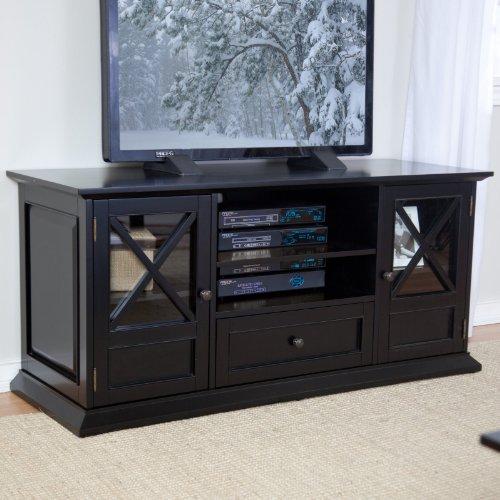buy low price the hampton 55 inch tv stand black ys090407009 b. Black Bedroom Furniture Sets. Home Design Ideas