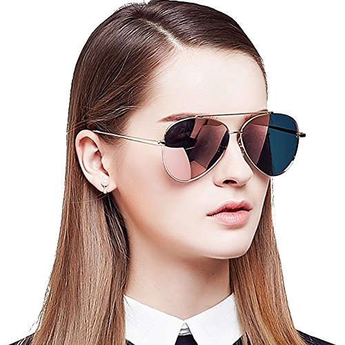 latest sunglasses for women  Bluekiki Latest Women\u0027s Model Polarized Aviator Sunglasses ...