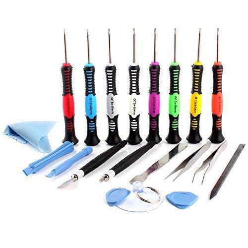 Neuftech® Kit 20pcs reparación de herramientas(tools) destornillador para reparar Móvil <stro data-recalc-dims=
