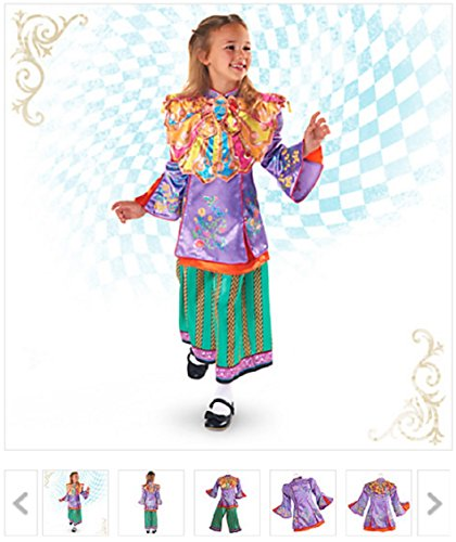 Disney - Alice Through the Looking Glass Deluxe Costume for Kids Size 7/8 New