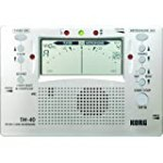 Korg TM-40 Large Display Digital Tuner and Metronome for $30.57 + Shipping
