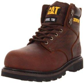 Caterpillar Men's Second Shift ST Work Boot,Dark Brown,9.5 M US