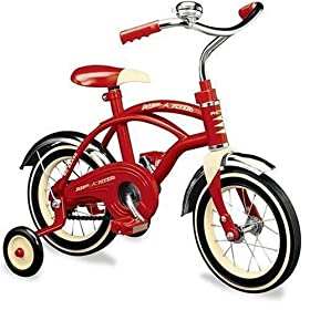 Radio Flyer Classic Red 10-Inch Bicycle with Chain Drive