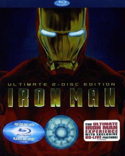 Iron Man (Ultimate Two-Disc Edition) [Blu-ray]-
