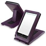Leather Case with Stand for Barnes & Noble Nook Color, Purple for $8.77 + Shipping