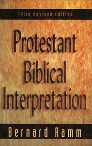 """Cover of """"Protestant Biblical Interpretat..."""