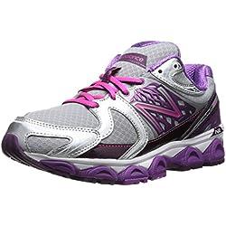 New Balance Women's W1340 Optimum Control Running Shoe,Purple/Silver,9 D US