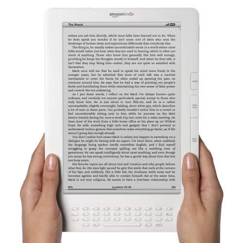 "Kindle DX Wireless Reading Device (9.7"" Display, Global Wireless, Latest Generation)"