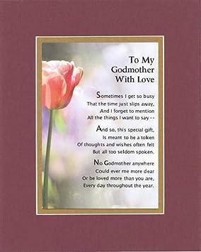 I Love My Godmother Poems