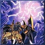【遊戯王シングルカード】 《デビルズ・ゲート》 暗黒界の雷 ノーマル sd21-jp023