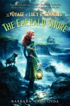 The Voyage of Lucy P. Simmons: The Emerald Shore by Barbara Mariconda| wearewordnerds.com