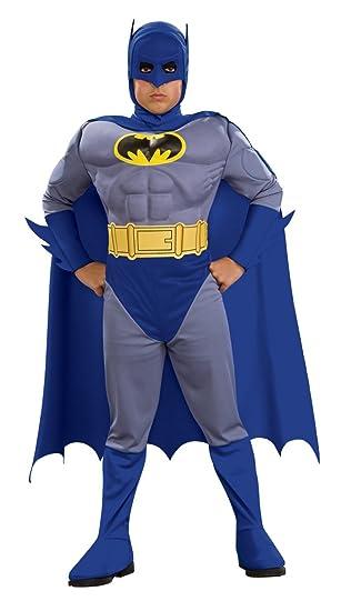 Batman Deluxe Muscle Chest Batman Child's Costume, Medium