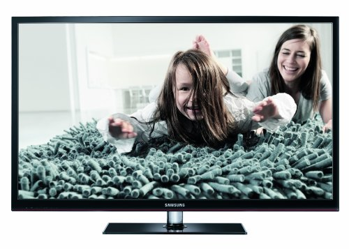 Samsung PS51D490A1WXZG 129 cm (51 Zoll) 3D-Plasma-Fernseher, Energieeffizienzklasse B (HD, DVB-C/-T, CI+) schwarz