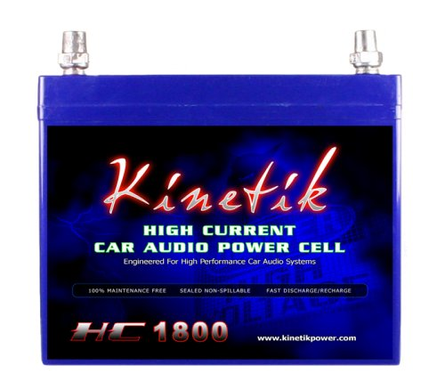 Kinetik HC1800 - 1800 Watt 12 Volt Power Cell Battery