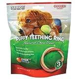 N-Bone 3-Pack Puppy Teething Ring, Chicken Flavor