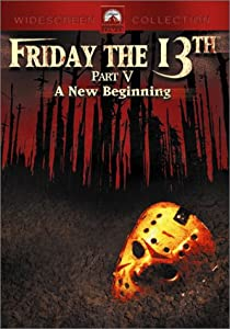 """Cover of """"Friday the 13th, Part V - A New..."""