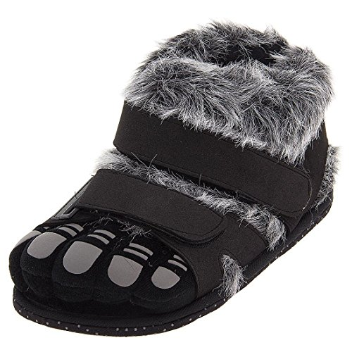 Comfy Feet Gray Wildcats Feet Slippers for Women and Men Medium