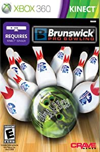 Brunswick Pro Bowling Requires Kinect Xbox 360 Video Games