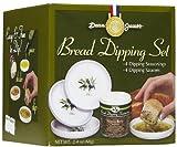 Dean Jacob's 5 Piece Melamine Bread Dipping Set - Regular