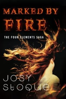 Marked by Fire (The Four Elements Saga) by Josy Stoque| wearewordnerds.com