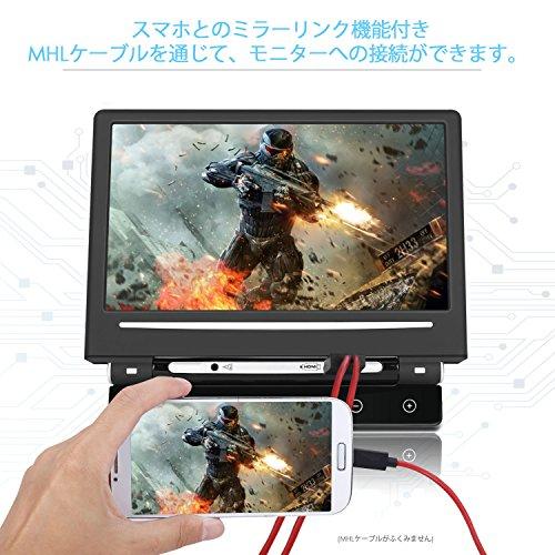 Pumpkin【Raspberry Pi ラズベリーパイに適応】10.1インチモニター HDMI対応 AV1/AV2入力 スピーカー内蔵